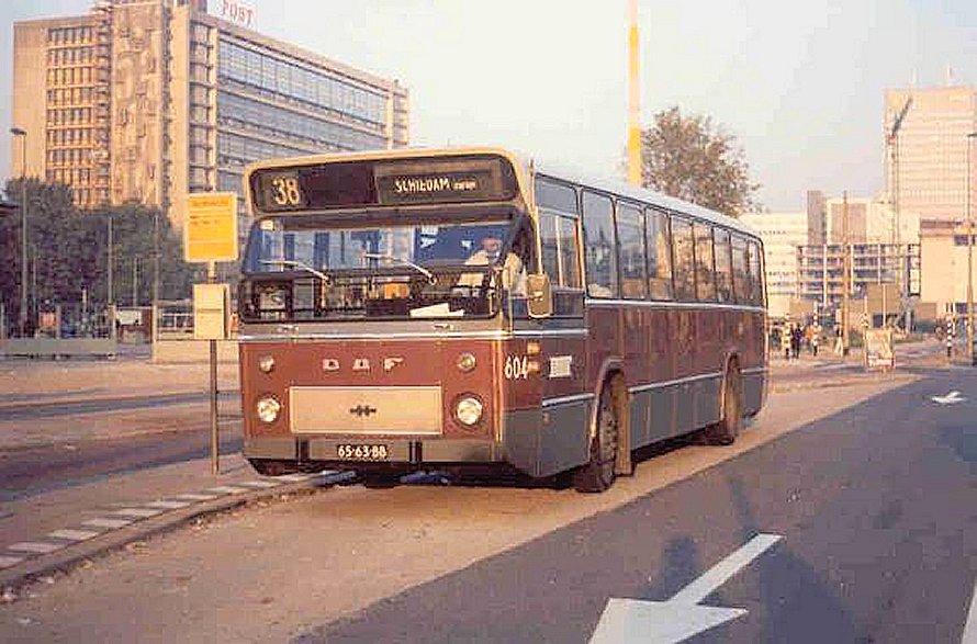 Bus 604, DAF standaardbus, lijn 38, Weena